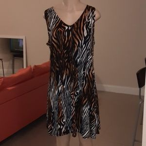 PREMISE Anumal Print Dress